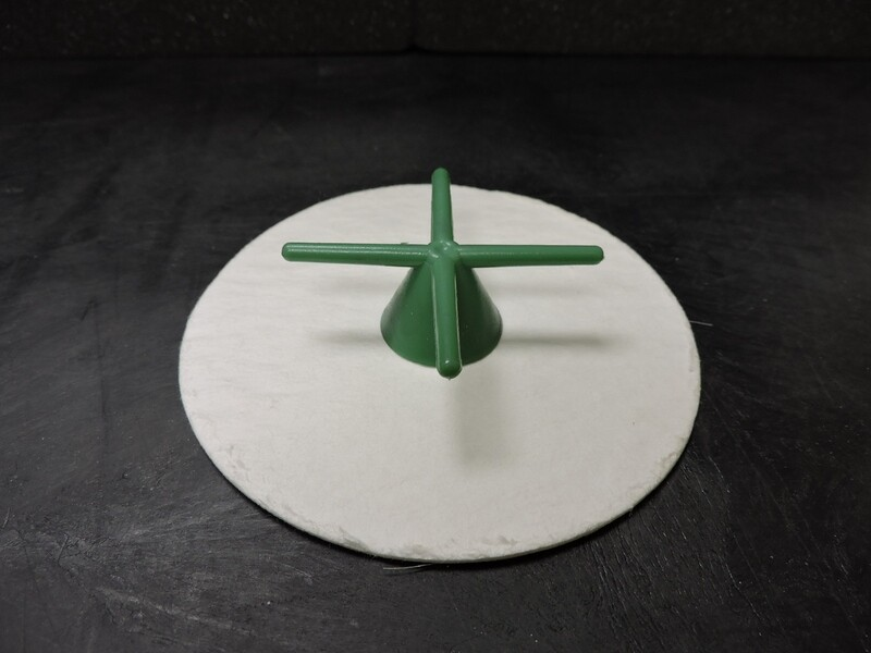 3.5 inch diameter base papers for 2.5 inch flask  100 pcs