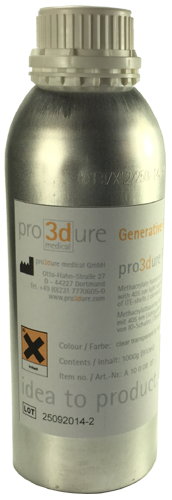 Pro3dure GR-10 Clear 1 Liter