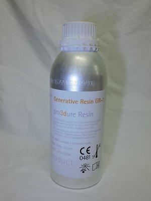 Pro3dure GR1 Black 1 Liter