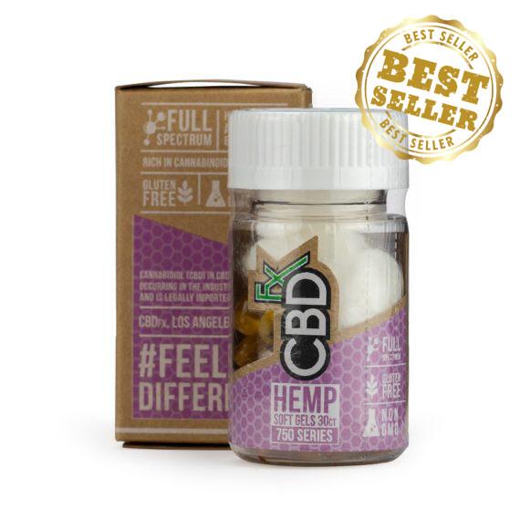 CBDfx – Softgels 30 Ct (750mg CBD)