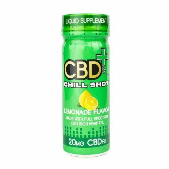 CBDfx – Chill Shot, Lemonade (20mg CBD)