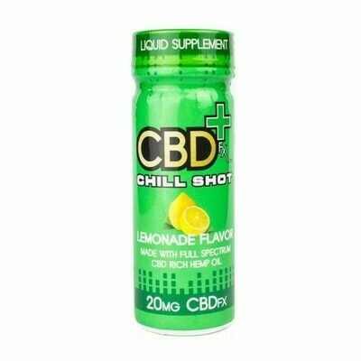 CBDfx – Chill Shot, Lemonade (20mg CBD)