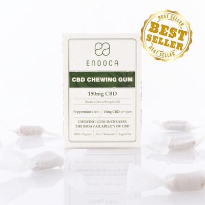 Endoca Hemp Oil CBD Gum 10 Ct (150mg CBD)