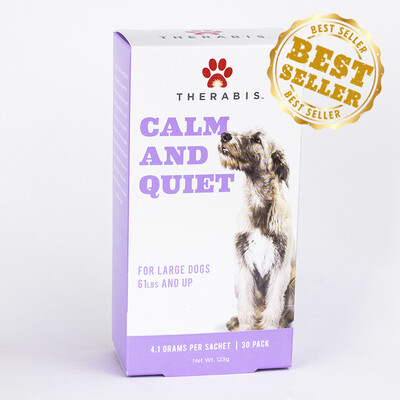 Therabis – Calm and Quiet – CBD Hemp for Pets