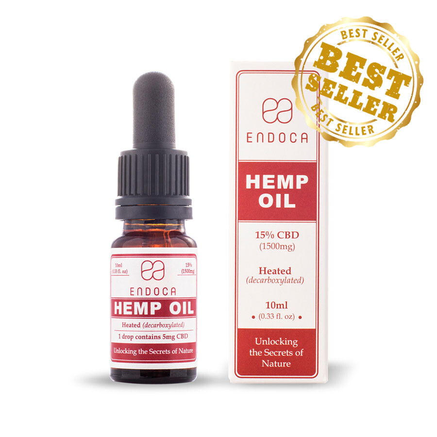 Endoca – CBD Oil Drops (1500mg CBD)