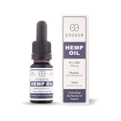 Endoca – CBD Oil Drops (300mg CBD)