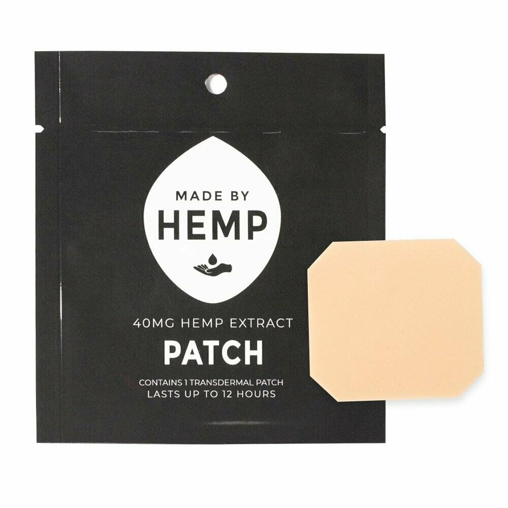 Made by Hemp – Transdermal CBD Patches 40mg