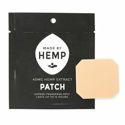 Made by Hemp – Transdermal CBD Patches 40mg