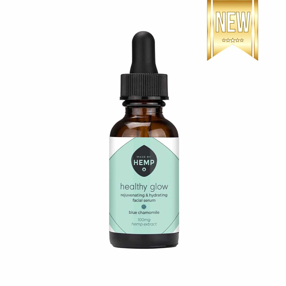 Made By Hemp – Healthy Glow CBD Face Serum 1oz (100mg CBD)