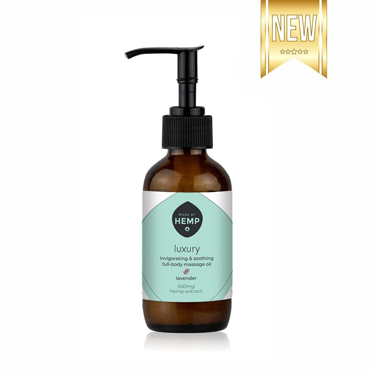 Made By Hemp – Luxurious CBD Massage Oil (500mg)