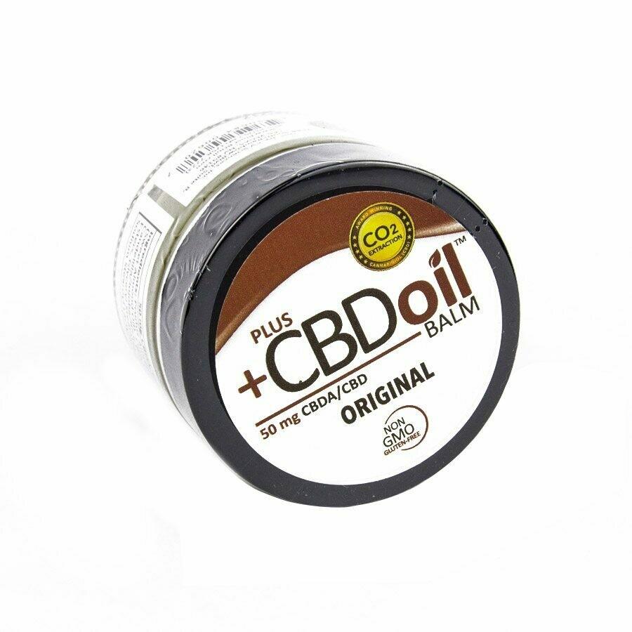 Plus CBD Oil – Hemp Balm 1.3oz (50-100mg CBD)