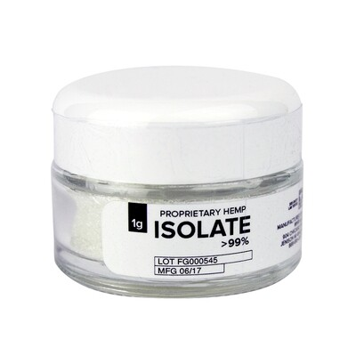 Proprietary Hemp - CBD Isolate 1g (96-99% CBD)