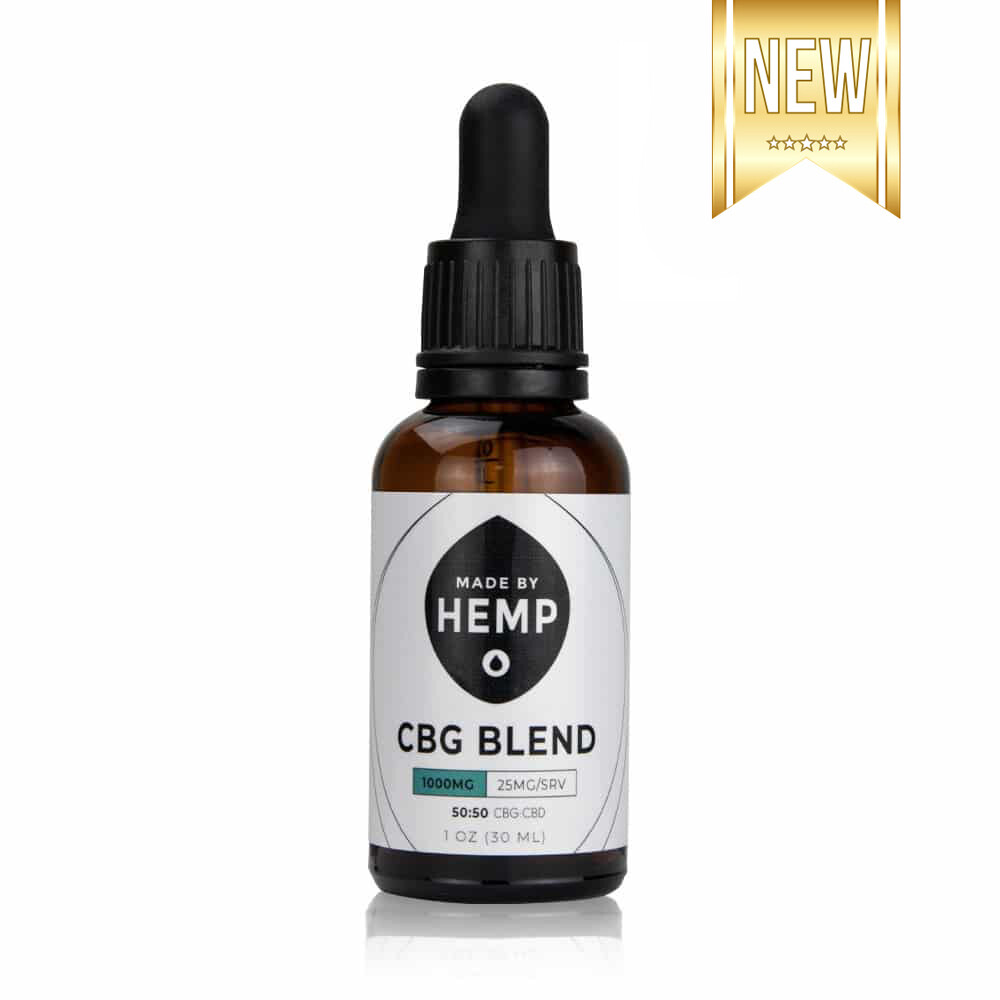 Made By Hemp – CBG/CBD Oil Blend (1,000mg CBD/CBG)