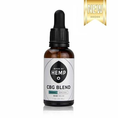Made By Hemp – CBG/CBD Oil Blend (1,000mg CBD/CBG)