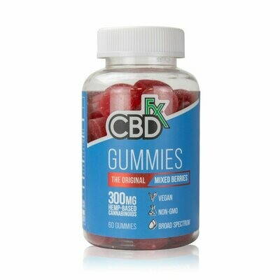 CBDfx – Gummy Bears 60 Ct (5mg CBD/ea)