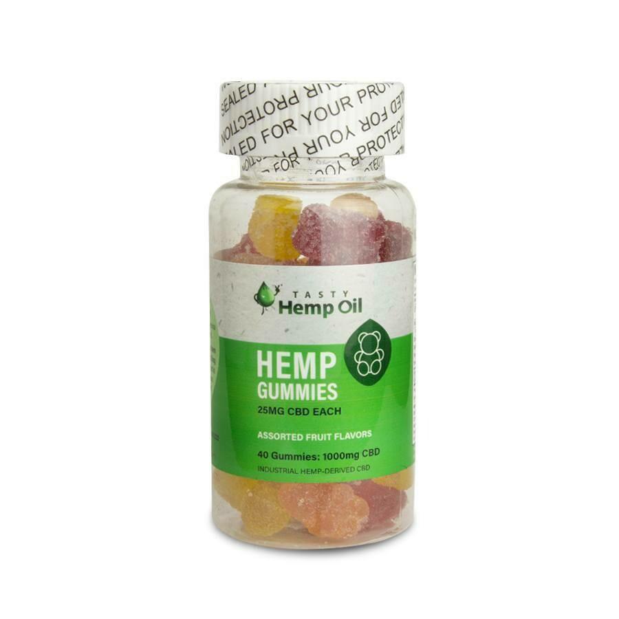 Tasty Hemp Oil – CBD Gummies 40 Ct (25mg CBD/Each)