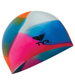 TYR Kaleidscope Silicone Swim Cap