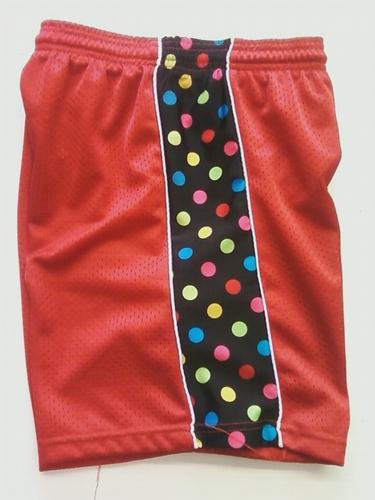 Red Polka Dot Ribbon Shorts