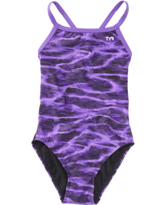 TYR Purple Lambent Diamondfit Swimsuit
