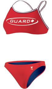 TYR Guard Dimaxback Red Bikini