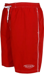 TYR Guard Challenger Red Swim Trunk