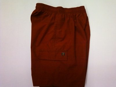 Triangle Youth Red Board Shorts - Small