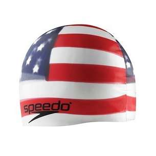 Speedo Patriot Swim Cap