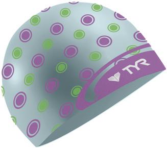 TYR Logodot Swim Cap