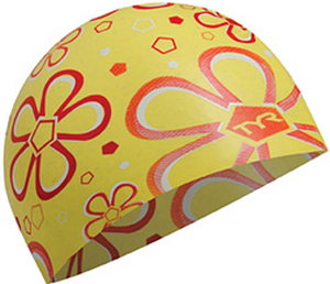 TYR Flower Child Silicone Swim Cap