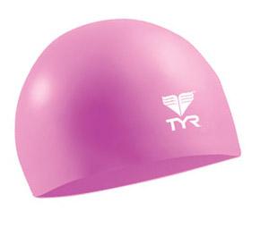 TYR Wrinkle Free Jr. Silicone Swim Cap