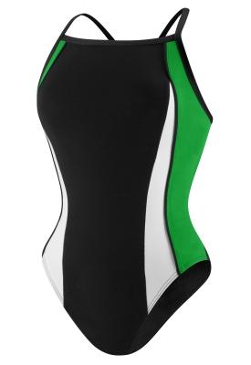 Speedo Black/Green Sonic Splice Y-Back