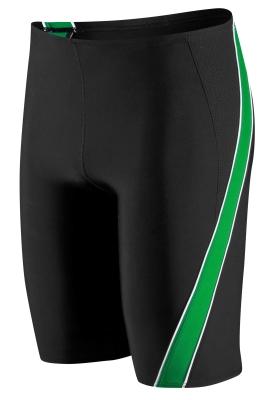 Speedo Black/Green Mercury Spliced Jammer