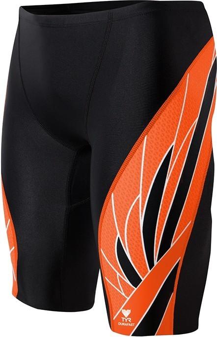 TYR Black/Orange Phoenix Splice Jammer