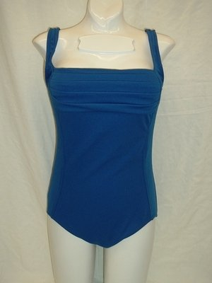Maxine Spa Solids Pleated Front 1pc
