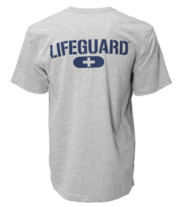 Speedo Lifeguard Heather Grey T-Shirt