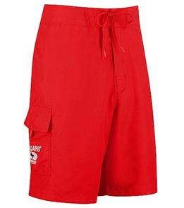Speedo Lifeguard Solid Red Boardshorts