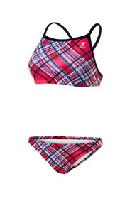 TYR Pacific Plaid Diamondback Workout Bikini