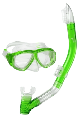 Speedo Jr. Adventure Snorkel Combo