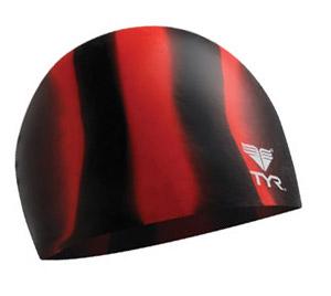 TYR Multi Color Silicone Swim Cap