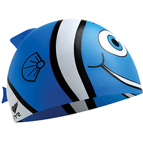 TYR Happy Fish Jr. Silicone Swim Cap