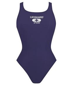 Speedo Lifeguard Navy Thick Strap