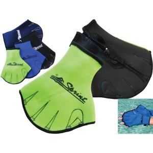 Sprint Fingerless Gloves - Green