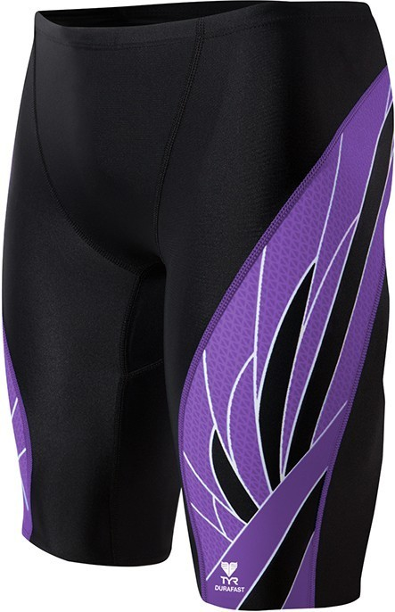 TYR Black/Purple Phoenix Splice Jammer