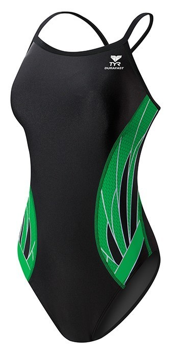 TYR Black/Green Phoenix Splice Diamondfit