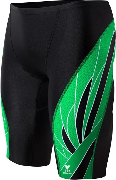 TYR Black/Green Phoenix Splice Jammer