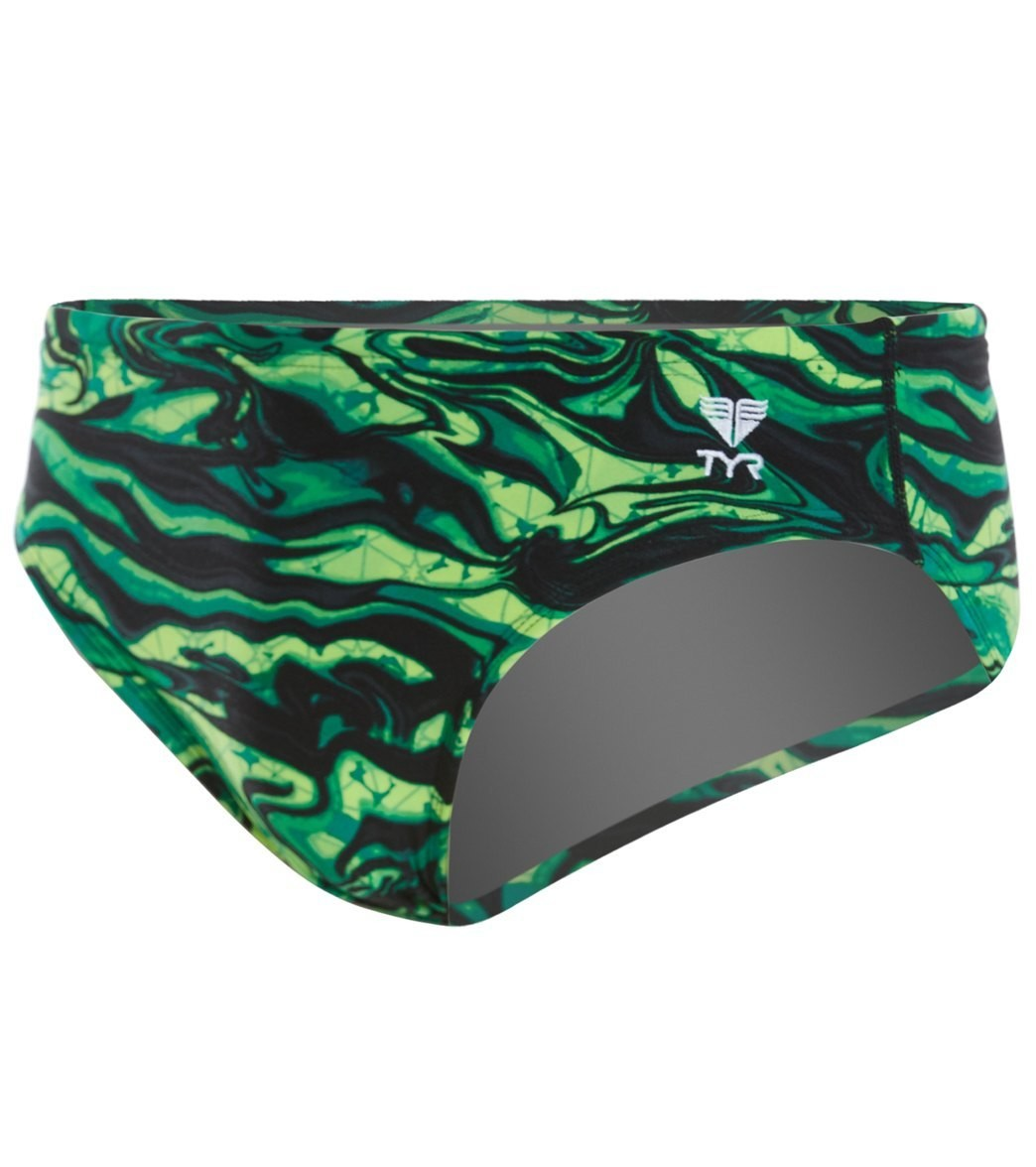TYR Green Miramar Racer Swimsuit