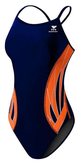 TYR Navy/Orange Phoenix Splice Diamondfit