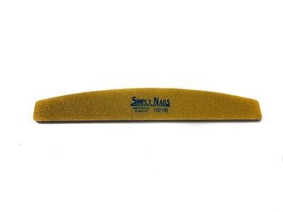 Пилка для ногтей Simply Nails professional 100/100