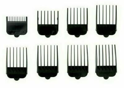 Wahl Набор насадок 8шт. (черные) для машинок серии Taper (3170-517)
