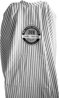 Пеньюар барберский Wahl Barber Cape Pinstripes 100 Years Logo 0093‑6055 в полоску